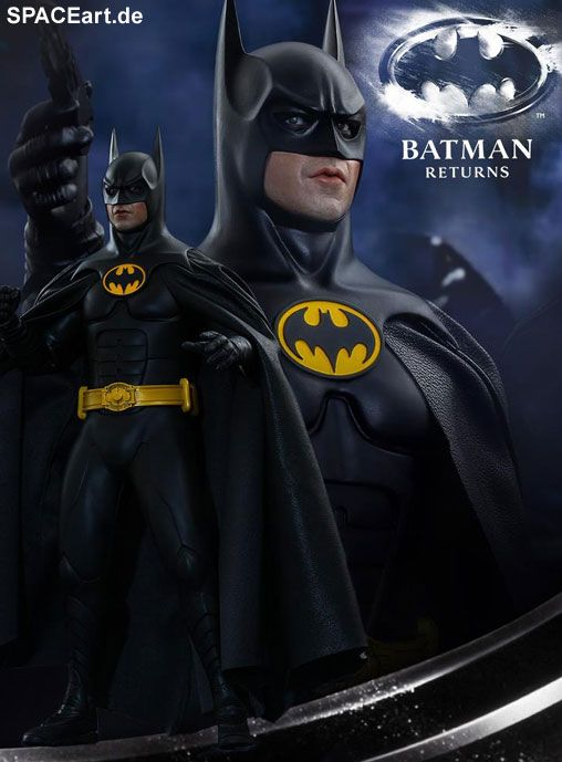 Batmans Rückkehr: Batman, Deluxe-Figur (voll beweglich) ... https://spaceart.de/produkte/bm027.php