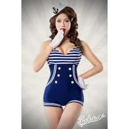 72 best maillots de bain bikini r tro pinup 50 39 s rockabilly belldandy images on pinterest. Black Bedroom Furniture Sets. Home Design Ideas