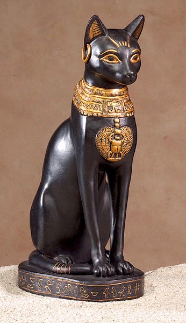 La diosa egipcia Bastet, protectora del hogar y señora de la abundancia.