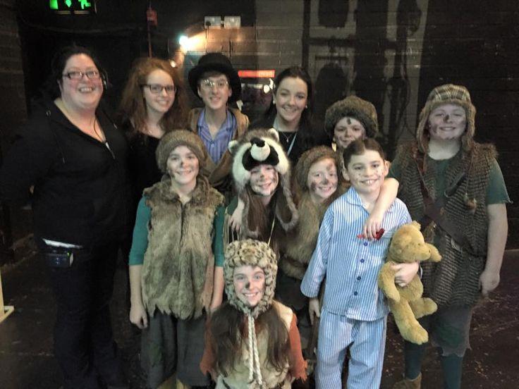 Ciara Nolan (far left) in Peter Pan at The Gaiety Theatre, Dublin