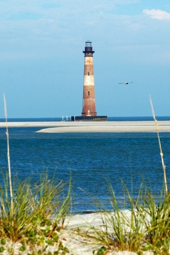 how to get to sand island lighthouse