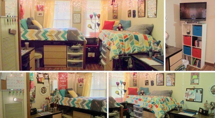 Decorating Ideas > HornKnapp Dorm At Texas Tech  Apartment  Pinterest ~ 204027_Tech Dorm Room Ideas