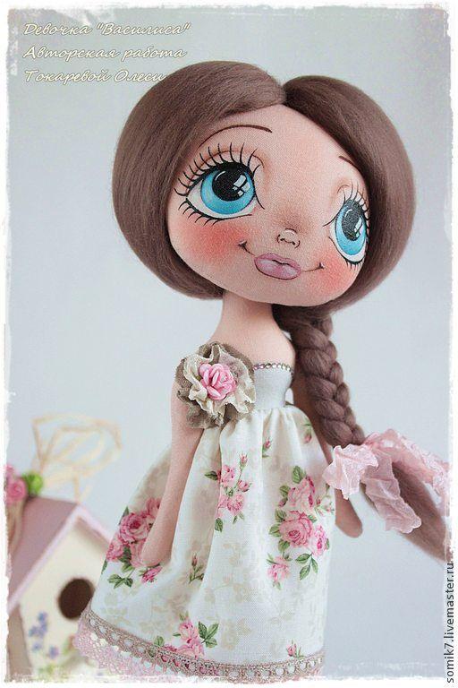 """Купить Девочка """"Василиса"""" - кукла, кукла ручной работы, кукла интерьерная, авторская кукла"""