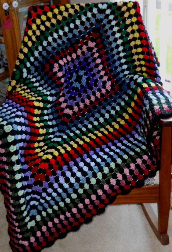 321 Best Images About Crochet Stained Glass Afghans On