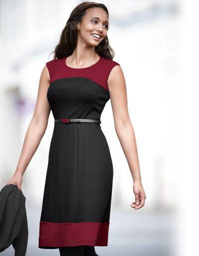 Ponte Belted Dress   Fashion Ideas   Pinterest