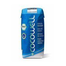 Cocowell кокосовая вода, восполняет баланс минеральных веществ во время родов