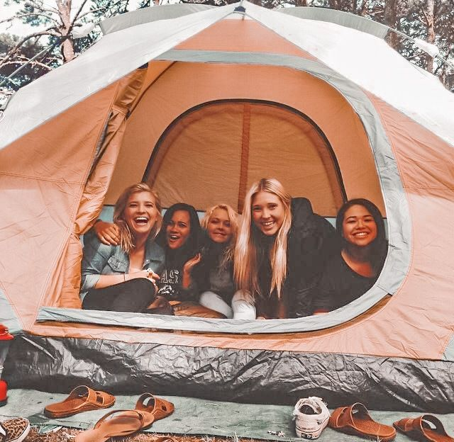 edited by me! dm for credit or removal! ★ | Camping photography, Camping friends, Camping aesthetic