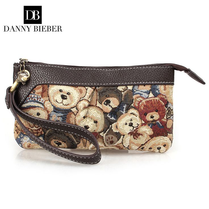 DANNY BIEBER Vintage Small Women Bear Bag Handbag Lady Famous Brand Zipper Cute Wallet Mobile Phone Bag Day Clutch Evening Bag //Price: $6.50 & FREE Shipping //     #hashtag2
