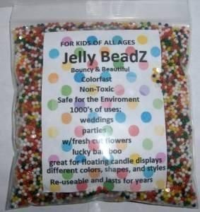 HUGE 16oz. ALMOST 30000 Jelly BeadZ Water Bead Gel- Rainbow Mix