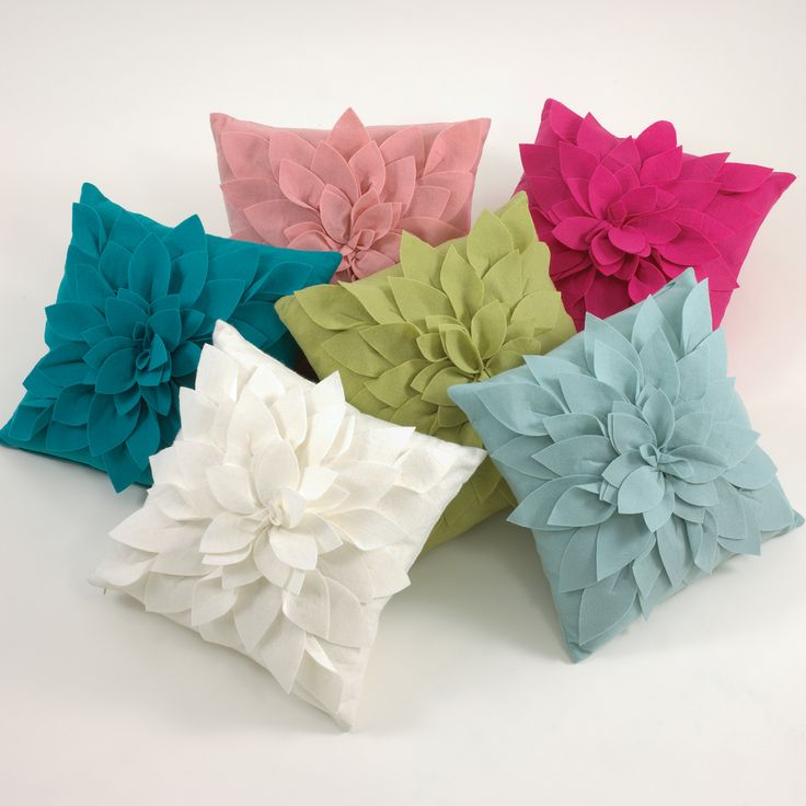 Decorative Flower Pillows : 17 Best images about Ideas for the House on Pinterest Modern classic, Tambourine and Mink