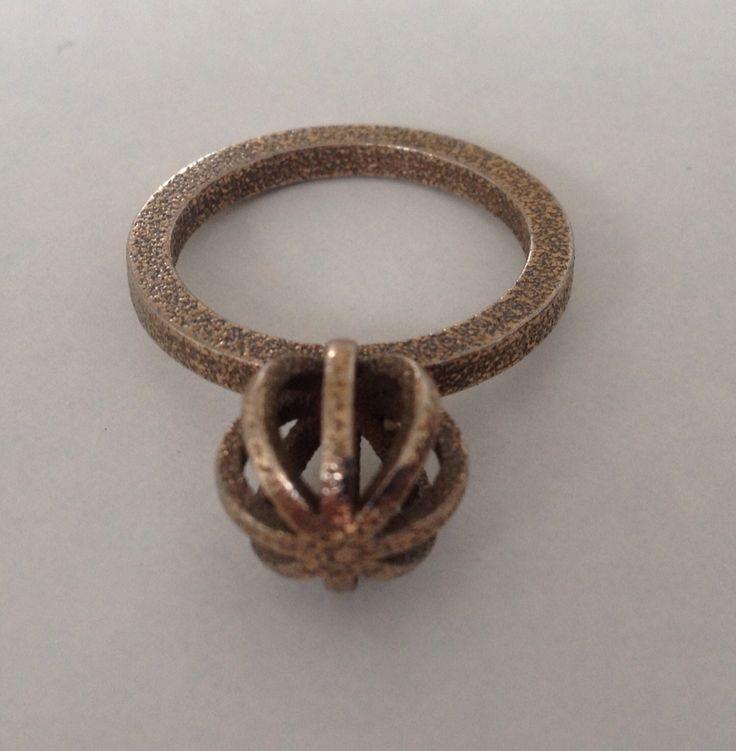 RVS ring, 3D printed