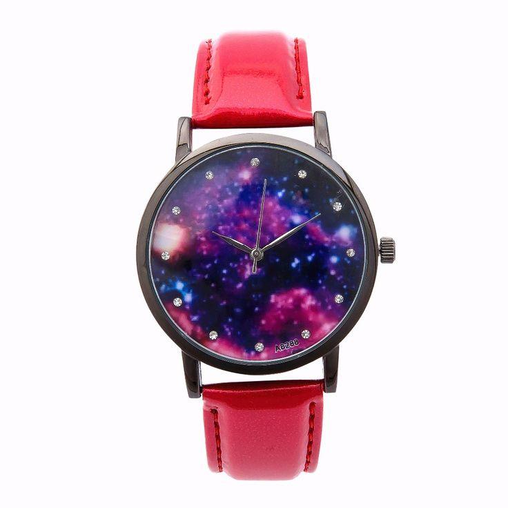 2016 New Fashion Watch Women Star and Sky Pattern - free shipping worldwide