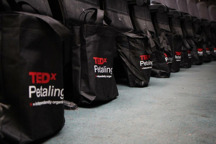 Goodie bags are ready! #TEDxPetalingStreet2013ConnectingDots #TEDxPetalingStreet