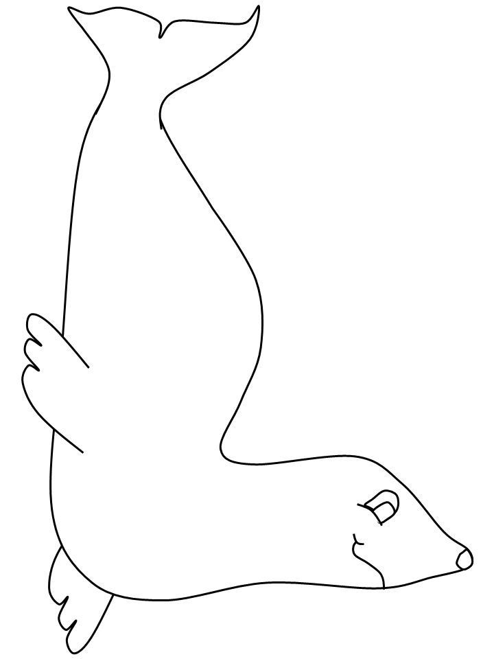 Inuit Seal2 Countries Coloring