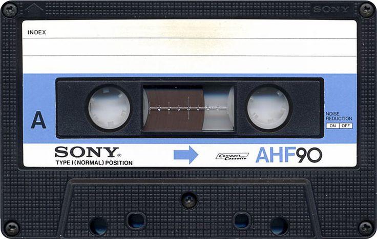 Sony audio cassette tape www.videoimageprod.co.uk