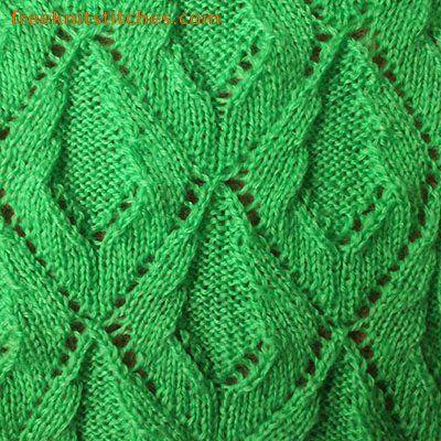 Creeper knitting stitches