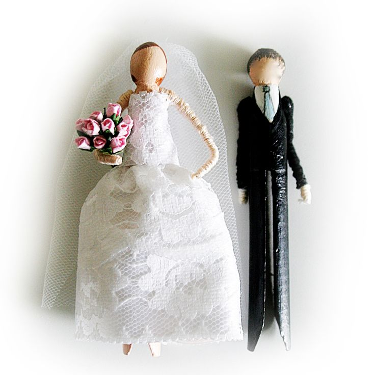 Wedding Doll Favour Kit. Troodlecraft's 'Wedding Doll Kits' make ideal wedding favours, give your guests these great kits