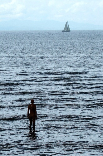ANOTHER PLACE by ANTONY GORMLEY, CROSBY, ENGLAND, 2005
