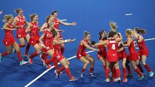 Live: Great Britain win historic Olympic hockey gold in dramatic penalty shoot out against Netherlands