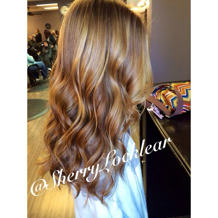 Gorgeous ombré/balayage by Sherry Locklear at Blondies Hair Salon.