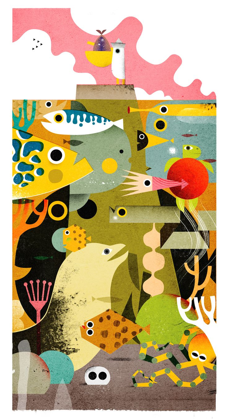 Prints for sell on Behance