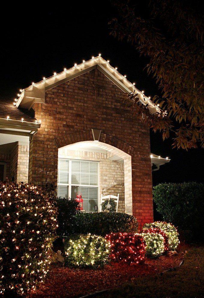 Ideen Weihnachtsbeleuchtung Außen.Herrliche Weihnachtsdeko Draußen Platzieren Die Veranda Festlich