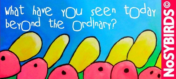 The Nosybirds....NOT ordinary! Realisatie van een Wordpress website begeleid.