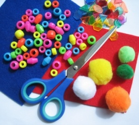Lot's of crafts for kids