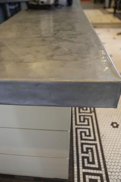 Custom Zinc Countertop From Zincsmith. Www.zincsmith.com Https://www