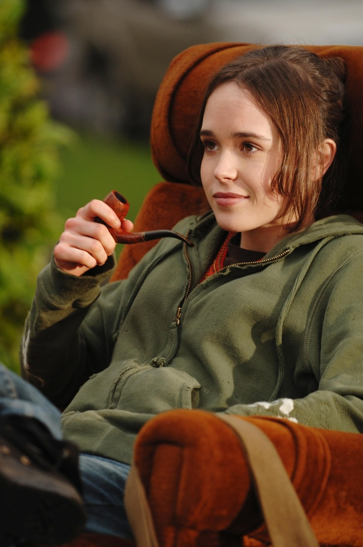 "Ellen Page. Oscar 2008 nominee. Best Actress in a Leading Role for ""Juno"". Character: Juno MacGuff."