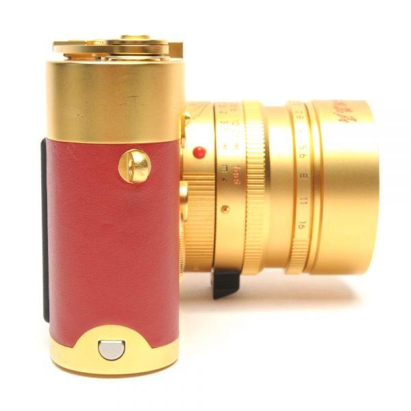 Leica MP złota Chińska Republika Ludowa 60 latowa pamiątkowa edycja kamery 7