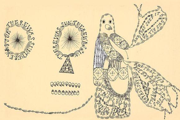 Devendra Banhart's art