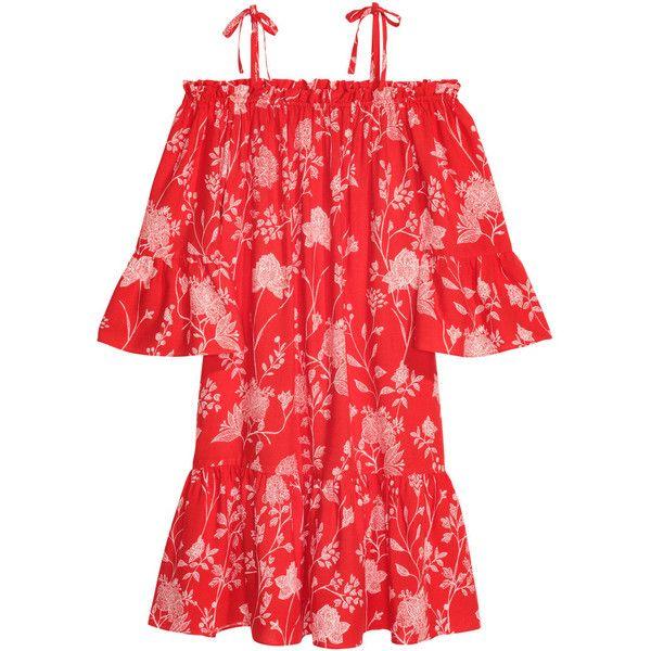 H m red dress uk football
