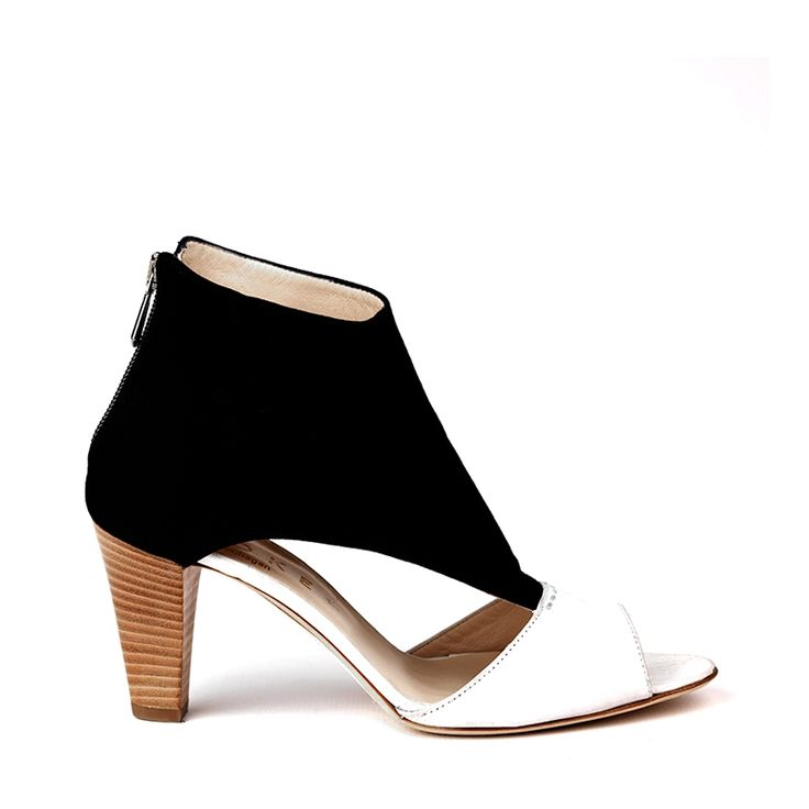 Felice sandals in black & white  HARD TO FIND MONOCHROME STYLE