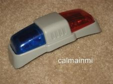 Little Tikes COZY COUPE POLICE CAR LIGHT BAR SIREN ROOF LIGHTS REPLACEMENT PART