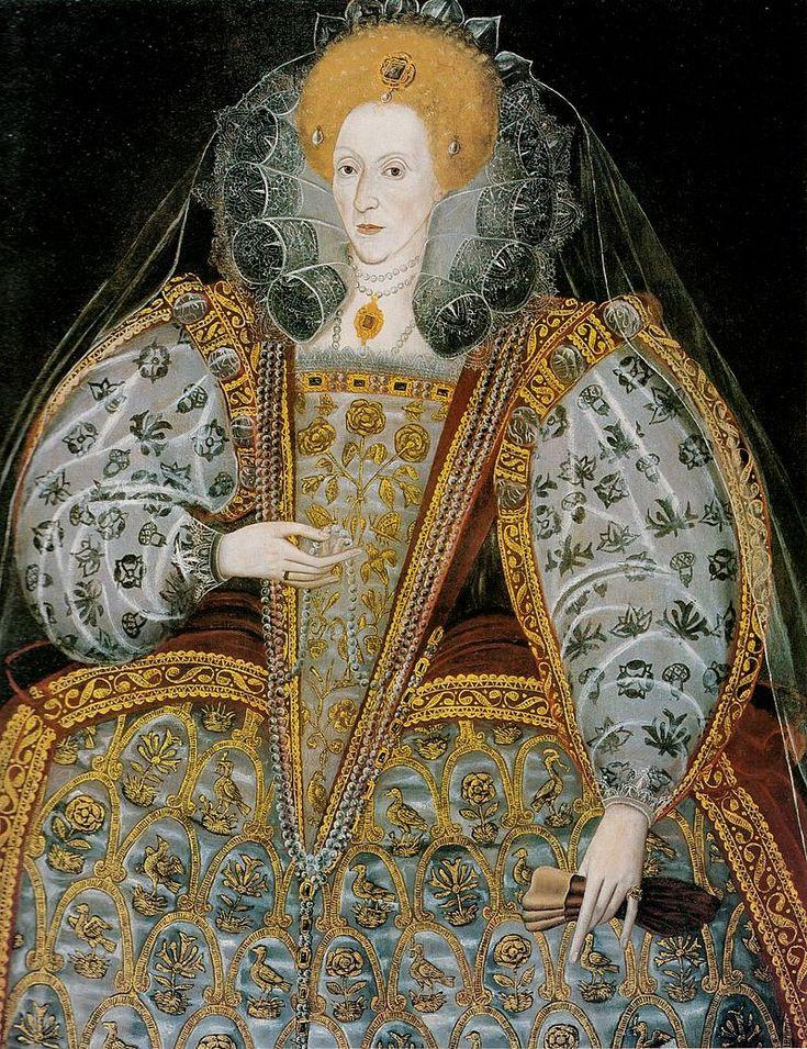 Elizabeth I Unknown Artist British School c. 1600 - User:PKM/16th/2 - Wikimedia Commons