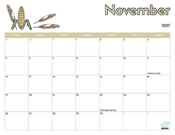 November Calendar Kids : Best free cute crafty printable calendars images on