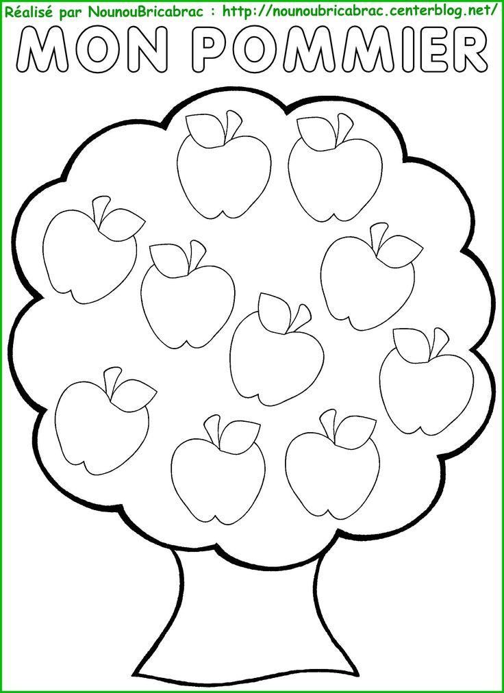 les 25 meilleures id es de la cat gorie coloriage pomme sur pinterest th me de la pomme. Black Bedroom Furniture Sets. Home Design Ideas