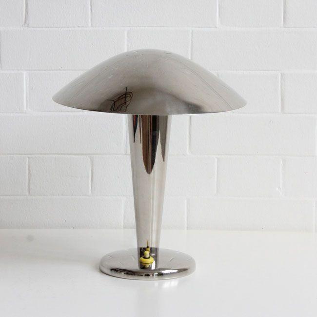 1930's Napako table lamp, Czechoslovakia.