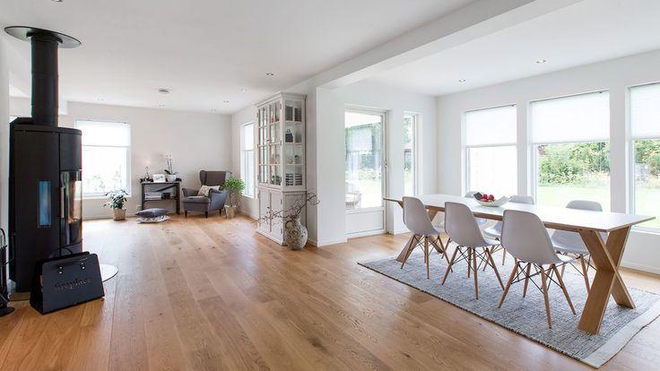 Nydelig og lys bolig med gjennomtenkt planløsning.