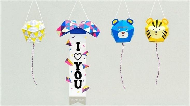 FLATROOMによる手作りのくす玉「HAPPY BALL Animalシリーズ」は、直径7.5cmのコンパクトサイズで、パーティやプレゼント、サプライズにぴったり。オリジナルメッセージを書いた垂れ幕で、結婚、出産、誕生日に活躍しそうな、シックな色使いのくす玉だ。1_r