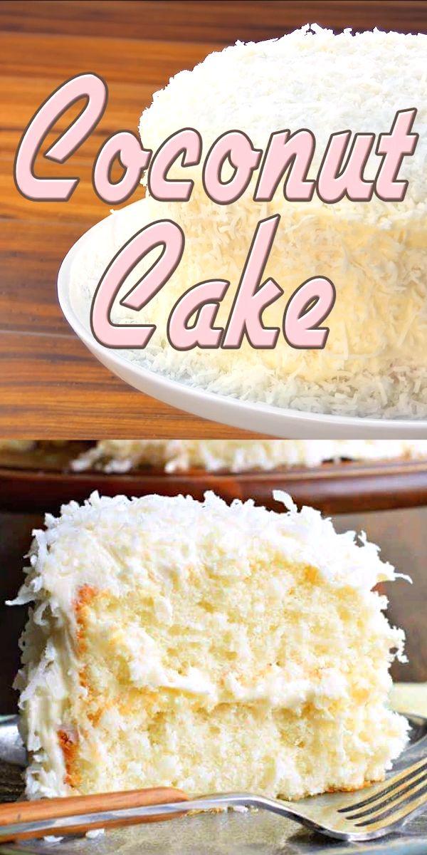 Coconut Cake  – Cooking/backe/Torte &