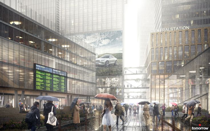 Region City by RRA, EMA, Kanozi, created by Tomorrow using 3Ds Max and VRay.