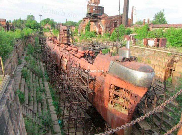 этом фото брошенных подводных лодок только познакомились, трудно