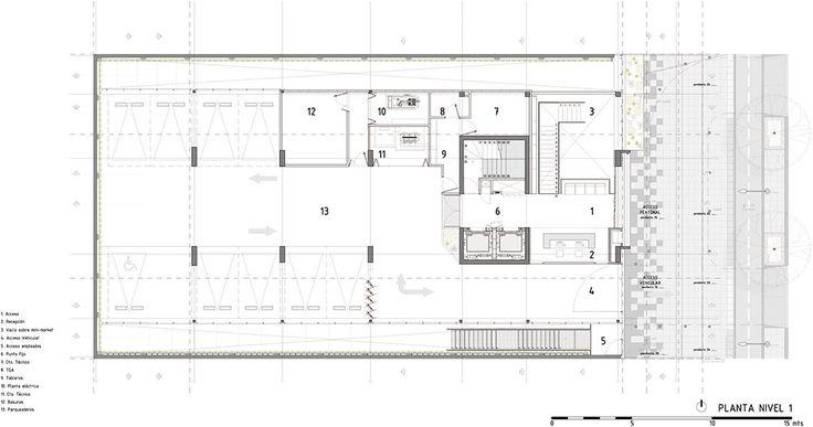 click clack hotel    plan b arquitectos