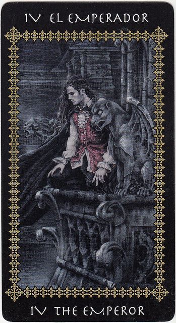 The Emperor (Victoria Frances Tarot card)