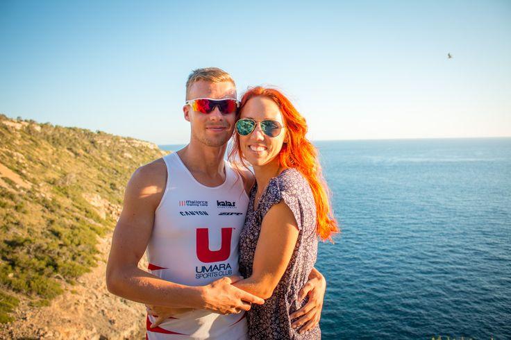 My boyfriend Andreas and I, El Toro, Mallorca.