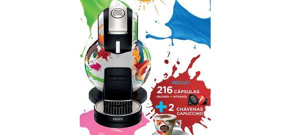 A nova Krups Melody 3 Limited Edition é o resultado da proposta vencedora do Concurso EuroDesign NESCAFÉ® Dolce Gusto® realizado em 2012, cujo design vencedor é…Português!
