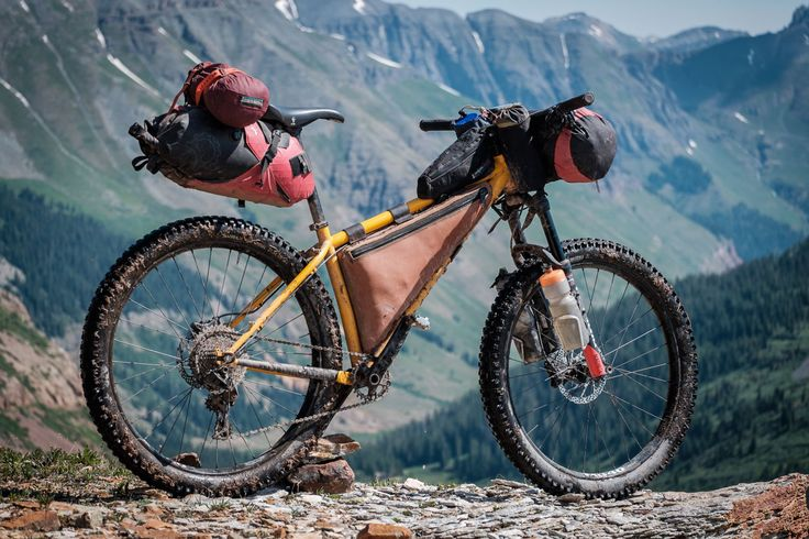 We check out Michael Dammer's Surly Karate Monkey Colorado Trail bikepacking rig and its awesome farm-made leather framebag...