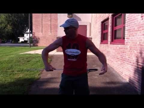 Glarehead Color Guard Tip - Saber Parallel Trick